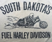 South Dakota Harley Davidson Classic Vintage Tee