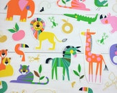 DIY Iron on Appliques  (4) - Safari Animals