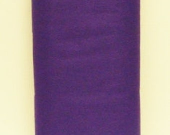 Purple 20% Merino Wool Felt Blend Fabric By the Yard from Woolhearts