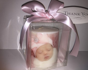 Picture Candle Boxed Gift