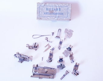 Sewing Machine Attachments Vintage Machine Parts Greist Rotorary Sewing Machine Attachments Universal Attachments Crafts Sewing