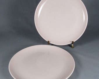 Russel Wright Iroquois Casual Pink Dinner Plates