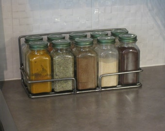 10 Jar Spice rack