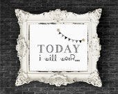 Today I will wear- Modern Print.  Children's Rooms