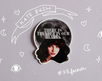 Kate Bush Vinyl Sticker