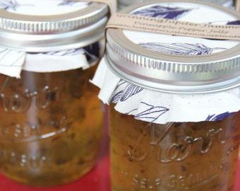 Homemade Pineapple Pepper Jelly 8oz jar