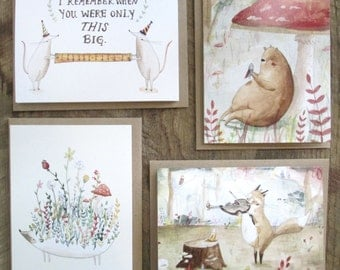 Buy 3 Get 1 Free Single Greeting Cards!
