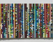 Painting ,Abstract Painting,Large Painting,Reclaimed Wood Wall Art