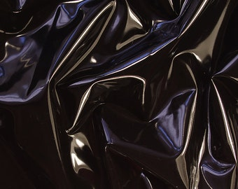 Latex sheet Black 0,4mm thickness - 50cm x 100cm (more available)