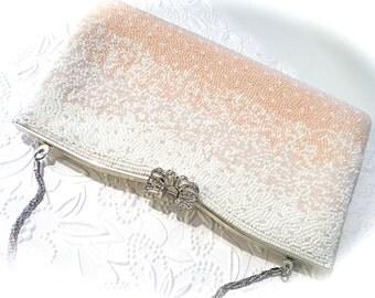 Beaded Vintage Purse Beaded Handbags Women's Purses  VP-228
