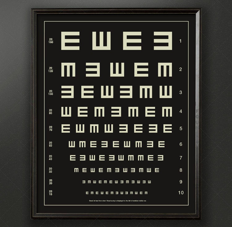 It is a picture of Dynamite Handheld Snellen Chart Printable