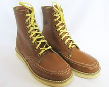 Vintage Kids Boots Work Boots Wallopers 70s NOS