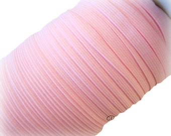 "1/4"" Pink Elastic. 5 Yards"