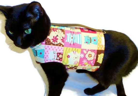 Cat Harness - Cat Clothes - Cat Harnesses - Cat Clothing - Clothes for Cats - Harnesses for Cats - Cat Jacket - Cat Coat