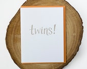 Twins! Greeting Card
