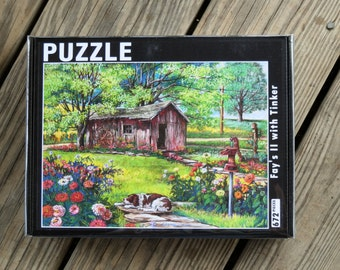 672 piece PUZZLE from the pastel painting Fay's II