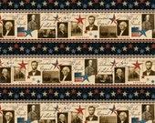Wilmington Prints - We the People - Repeating Stripe - Multi