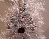 "6"" Light Blue Snowmen Tree Ornament"