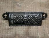 Bin Pulls - NOS - Victorian Design - Cabinet Repair - Furniture Repair