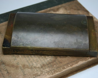 Vintage Brass Longines Display Box