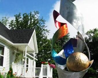 Alex Kovacs - Modern Abstract Sculpture Indoor Outdoor New Metal Art Decor - AK245