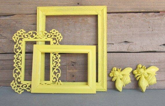 like this item - Yellow Picture Frames