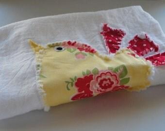 Set of Tea Towel Flour Sack Towel Absorbent Dish Towel (2)