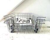 Vintage Wire Basket File Folder