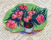 Vincent van Gogh's Oleanders Brooch