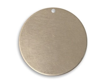 Vintaj 25mm Circle - Artisan Pewter - SALE