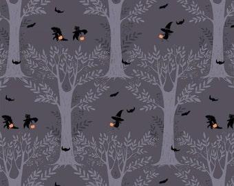 Mischief Night - Forest Path in Twilight - 40645-X - 1/2 Yard