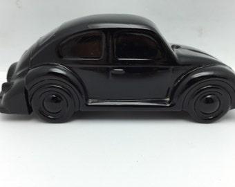 Avon Volkswagen Beetle Black Bottle after shave vintage bottle
