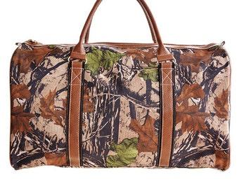 Men's Camo Duffle Bag