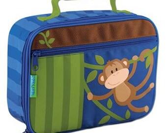 Personalized Stephen Joseph Boy Monkey Classic Lunchbox