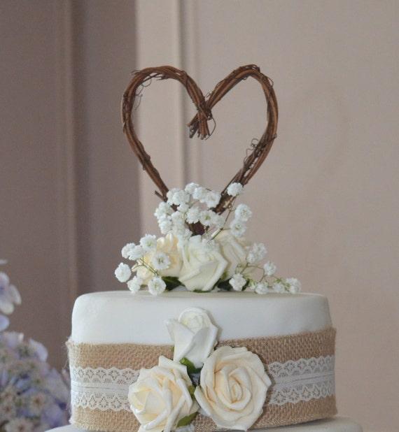 Etsy Wedding Cake Decorations : Items similar to Engagement Party, Fall Wedding Decor ...