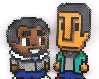 Community Pixel Bead: Troy and Abed