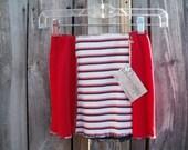 SALE...Size 6/8, Girls Skirt, Girls T-shirt Skirt, Upcycled Skirt, Repurposed Skirt, Eco Clothing, Kids Skirt