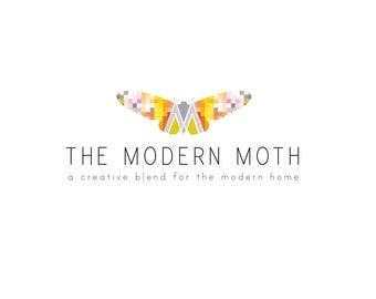 Business Logo-Custom Business Logo Design-Moth Logo-Craft Logo-studio160design