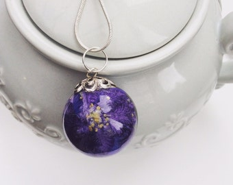 Larkspur pendant  SOLD, can make another to order