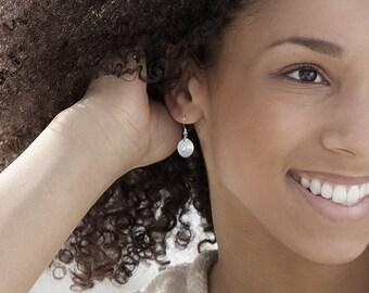 Petal Earrings, Silver Earrings, Sterling Silver, Jewellery, Jewelry