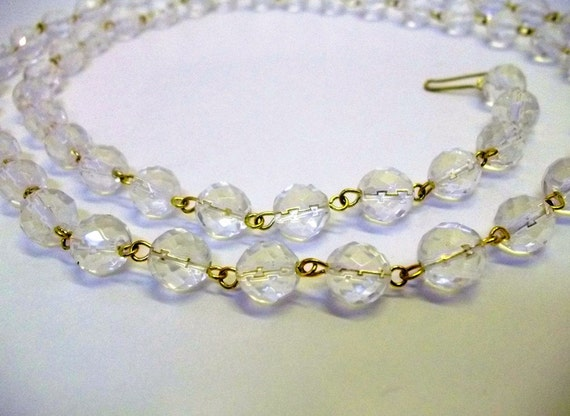 Excellent Quality Chandelier Crystal Chain 10mm Faceted