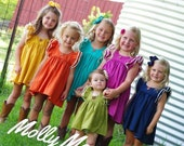 Fall Magnolia in sizes 0-3 months through girls size 10