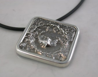 Gale Crater Pendant (Sterling Silver, Bronze, Stainless Steel)