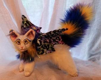 Fantasy Fairy Fox Kit Posable art Doll