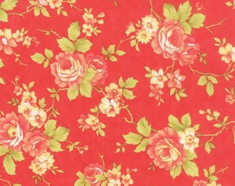 Farmhouse Rose Tomato by Fig Tree Quilts - Moda - 1 Yard