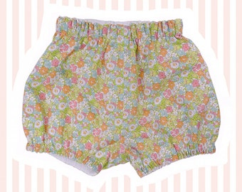 Liberty Print Mini Bloomers/ Bubble Shorts for Baby