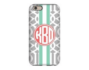 Personalized iPhone 6 case, Gray Roman, iPhone 5 case, iPhone tough case, iPhone snap on case, 3d iPhone case