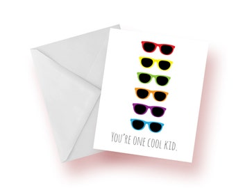 You're One Cool Kid card