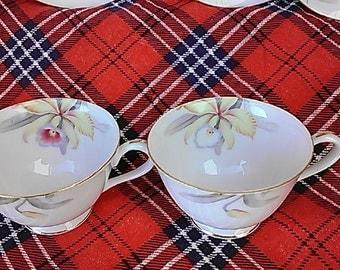 Vintage Lotus Lily Flower Tea Cup