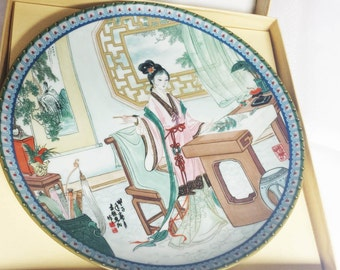 Imperial Jingdezhen Beauties of the Red Mansion Hsi - Chum